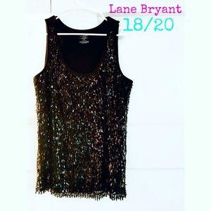 Lane Bryant sequin tank
